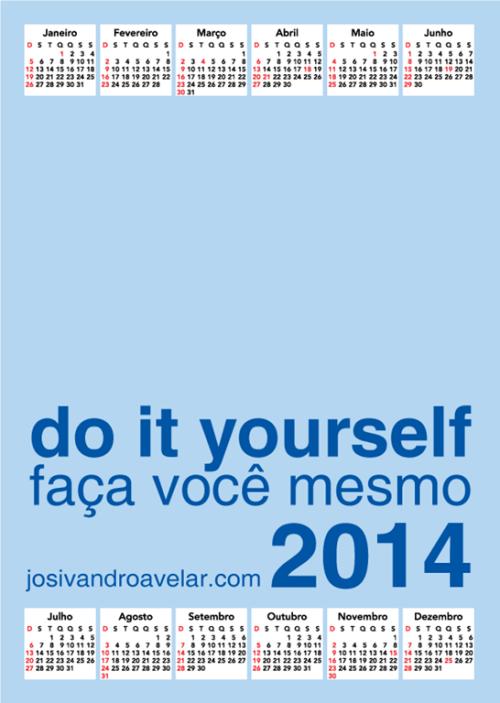 calendário josivandro avelar 2014 7