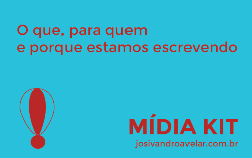 blog josivandro avelar- artes de páginas estáticas- mídia kit