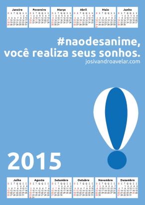calendário josivandro avelar 2015 1