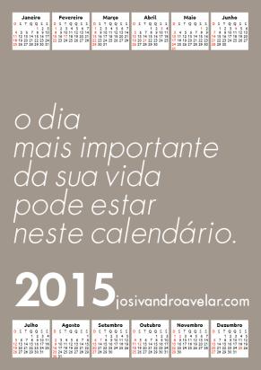 calendário josivandro avelar 2015 12