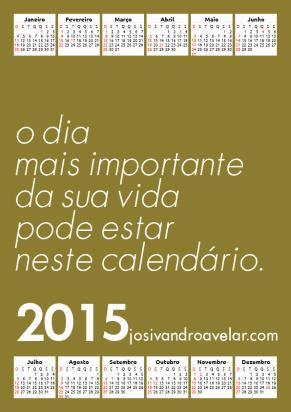 calendário josivandro avelar 2015 15
