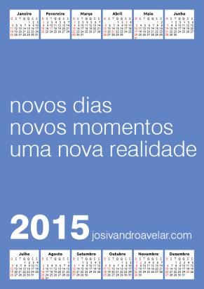 calendário josivandro avelar 2015 2