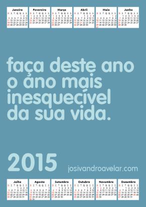 calendário josivandro avelar 2015 39