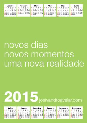 calendário josivandro avelar 2015 4