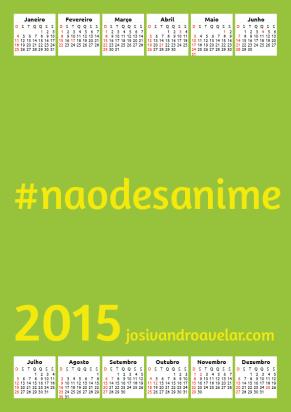 calendário josivandro avelar 2015 52