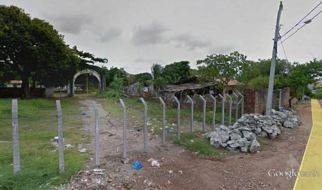 Atual entrada da Cehap.