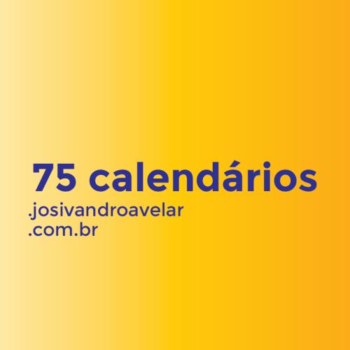 75 calendários