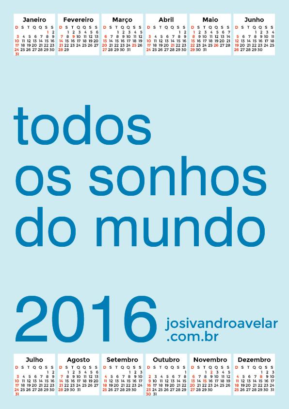 calendário 2016 24