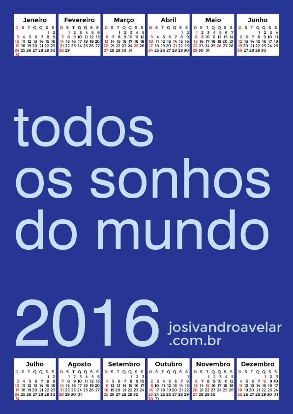 calendário 2016 27