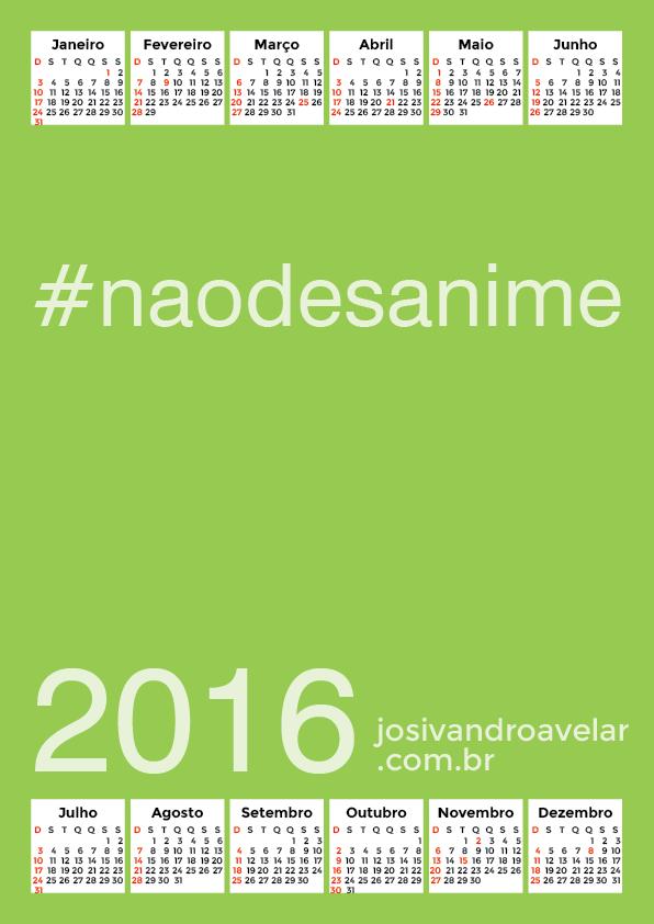 calendário 2016 32