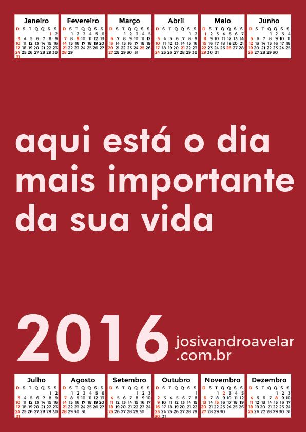 calendário 2016 37