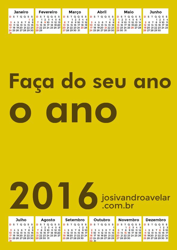 calendário 2016 42