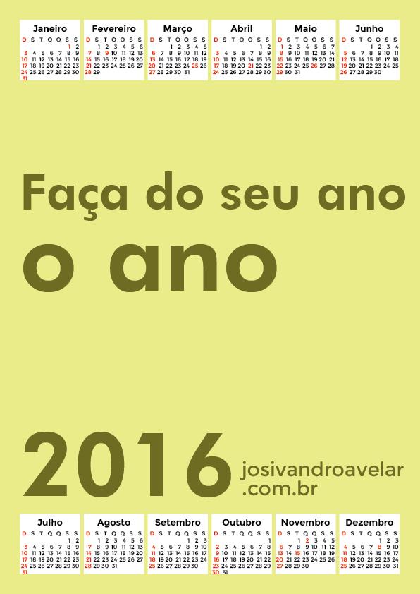 calendário 2016 45