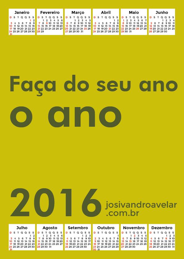 calendário 2016 46
