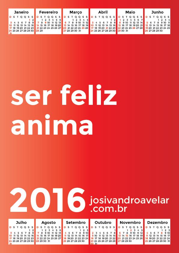 calendário 2016 50