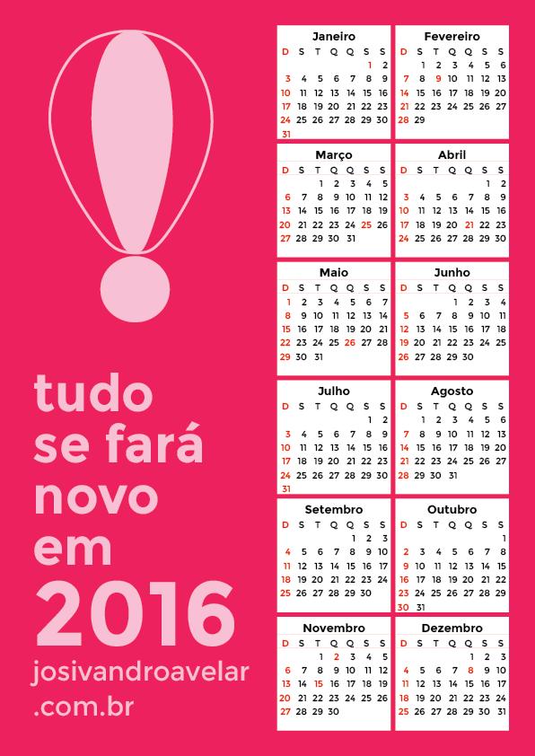 calendário 2016 6