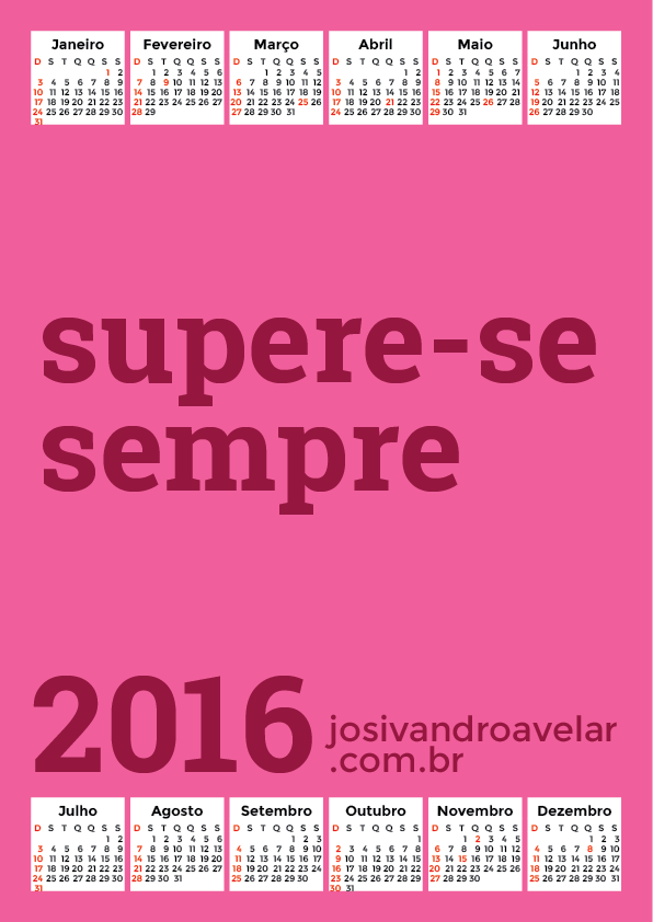 calendário 2016 70