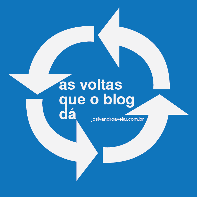 AS VOLTAS QUE O BLOG DÁ