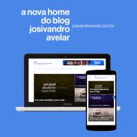 A nova home do Blog Josivandro Avelar