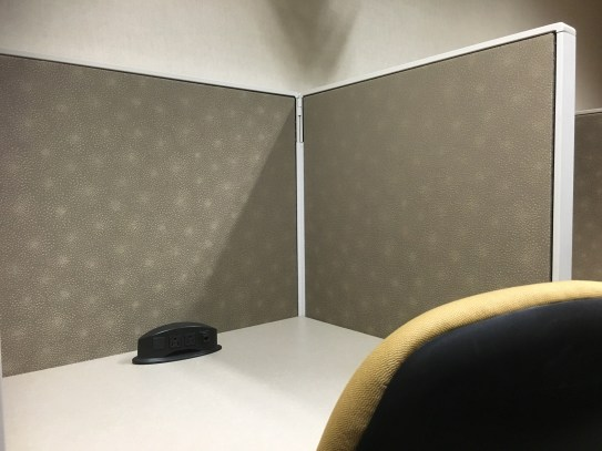 My cubicle away from home