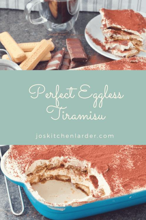 Perfect Eggless Tiramisu