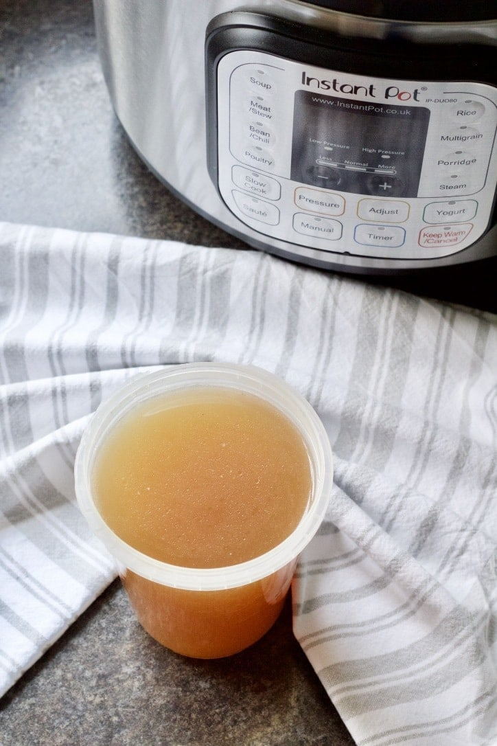 How To Make Chicken Stock in Instant Pot