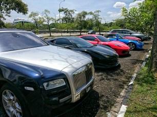 Full range of beautiful cars attending!