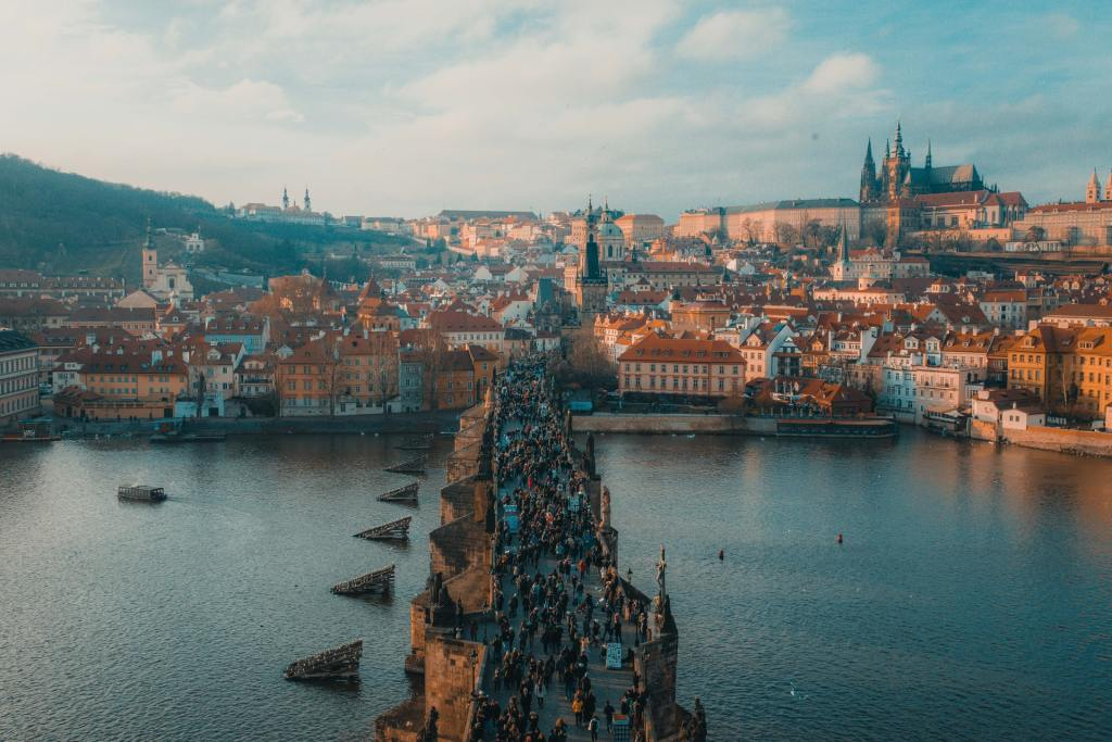 I'm excited to share Prague with you