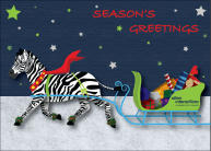 Holiday e-card I designed using Illustrator.