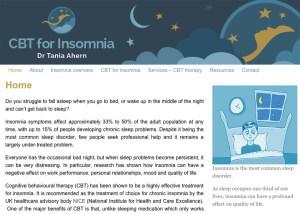 CBT Insomnia website