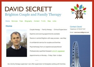Brighton Couple and Family Therapy website