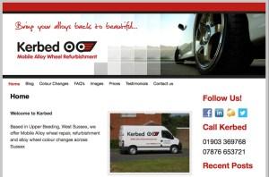 kerbed Alloy Wheel Repairs Website