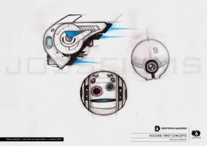 DestroyMadrid Shortfilm JosebaAlfaro Jossfilms Concept Vulture 01