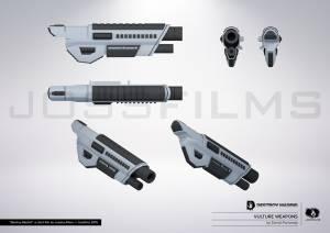 DestroyMadrid Shortfilm JosebaAlfaro Jossfilms Concept Weapons 01