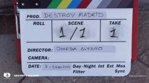 DestroyMadrid Shortfilm JosebaAlfaro Jossfilms Shooting Day2 001