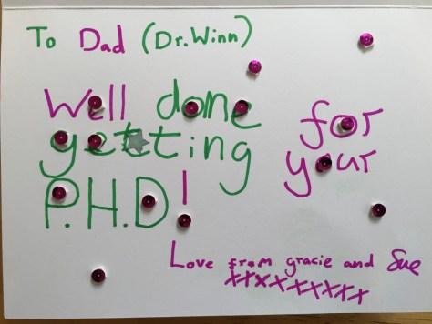 PhD card
