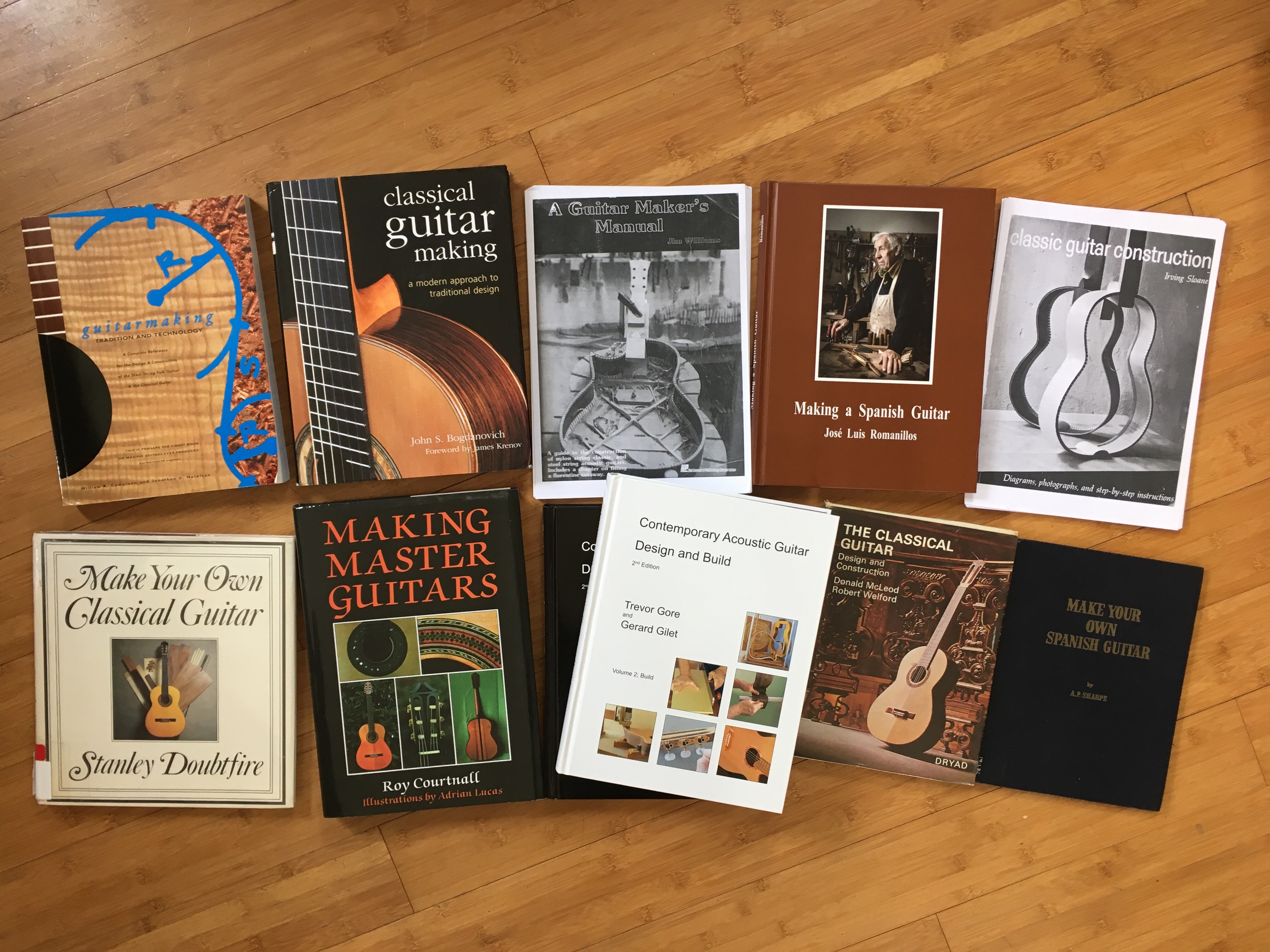 Classical Guitar Making Book