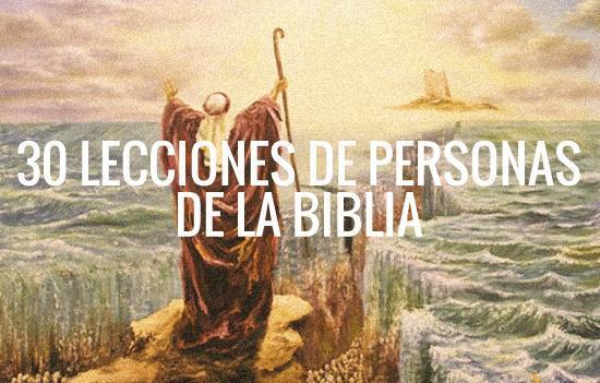 30 Lecciones de Personas de la Biblia