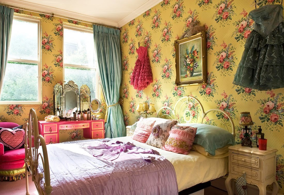 Best Trending Flower Power And Bohemian Chic Decor Tres Chic With Pictures