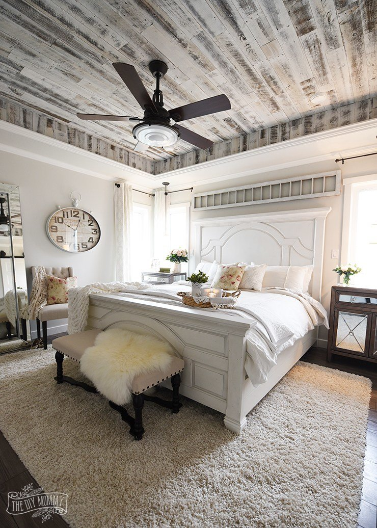 Best Our Modern French Country Master Bedroom One Room With Pictures