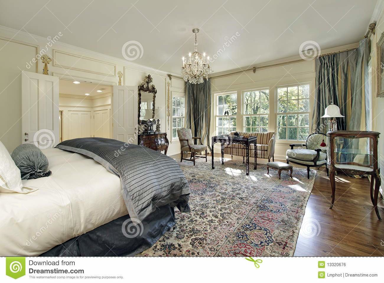Best Master Bedroom With Sitting Room Royalty Free Stock Image With Pictures