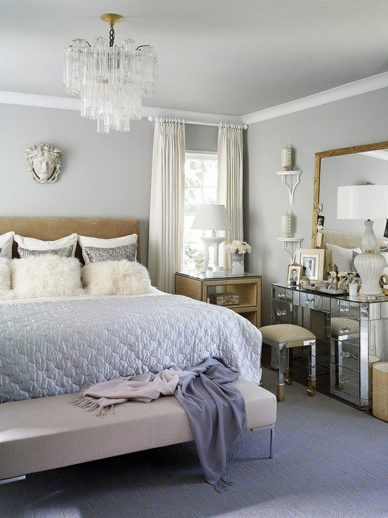 Best Glamorous Bedroom Design Velvet Palette With Pictures