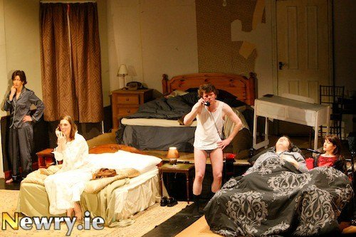 Best Newry Ie Bedroom Farce On Stage With Pictures