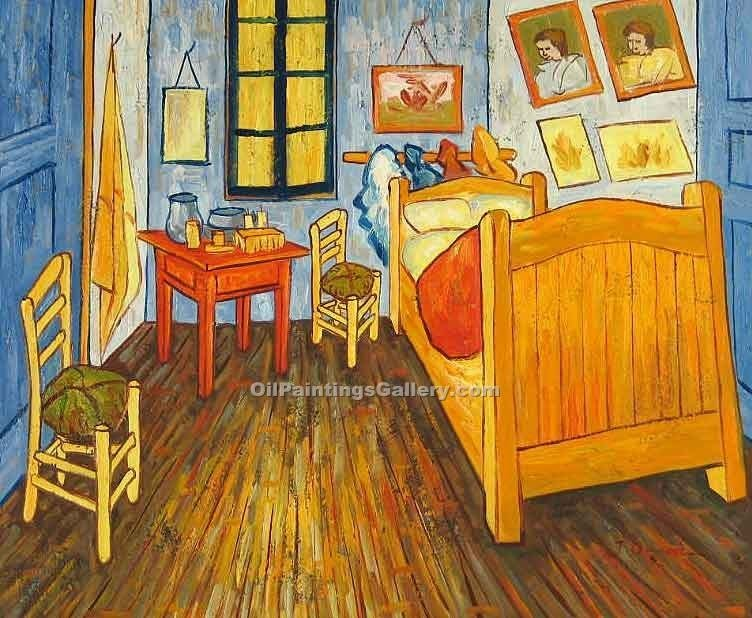 Best Van Gogh Bedroom By Vincent Van Gogh Painting Id Vg 0350 Ka With Pictures