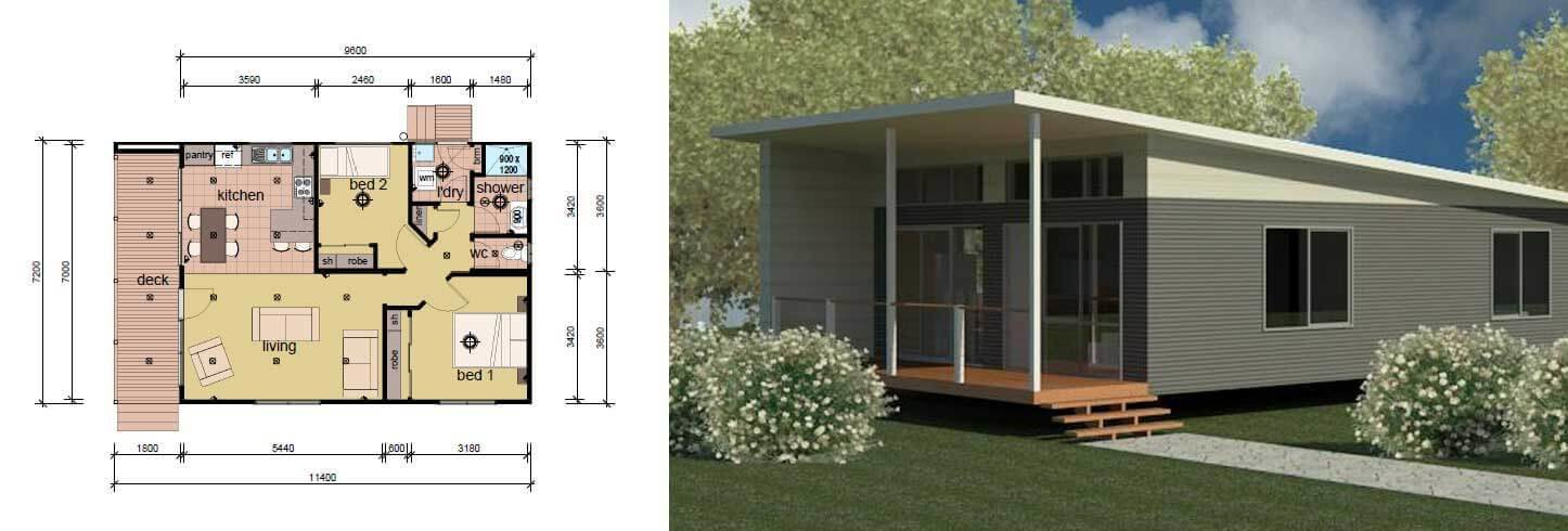 Best The Lambert B 2 Bedroom Modular Home Parkwood Homes With Pictures