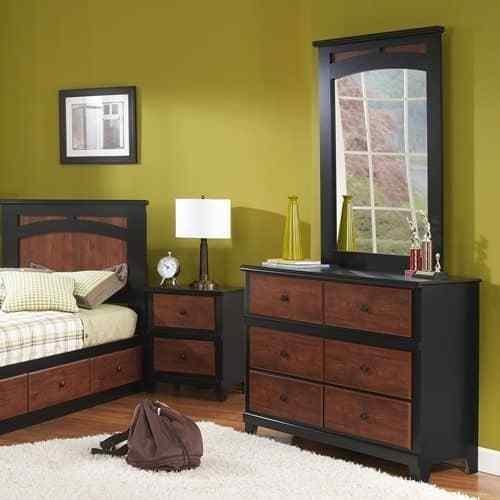 Best Perdue 49020C 49446C Country Retreat Dresser With Mirror With Pictures