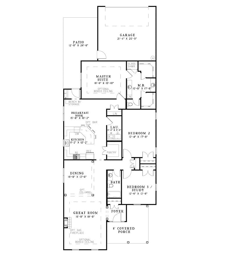Best Narrow Lot 4 Bedroom House Plans Home Mansion Long Narrow With Pictures