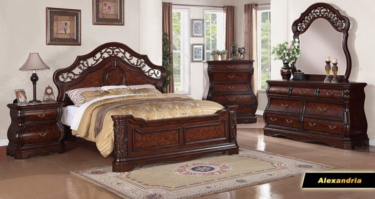Best Meridian Furniture Alexandria Bedroom Collection With Pictures