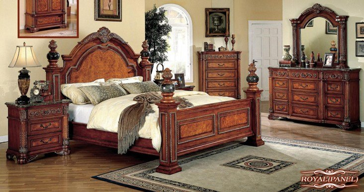 Best Meridian Furniture Royal Bedroom Collection With Pictures