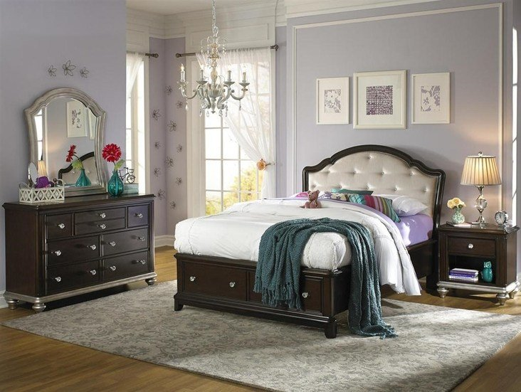 Best Samuel Lawrence Girls Glam Collection By Bedroom Furniture With Pictures